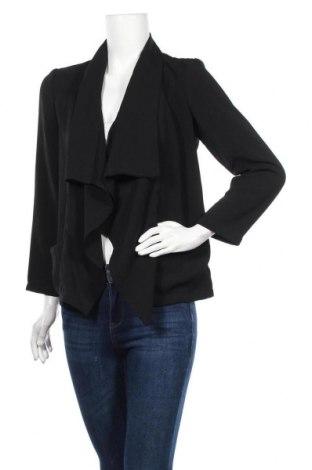 Дамска жилетка H&M, Размер S, Цвят Черен, Полиестер, Цена 4,59лв.