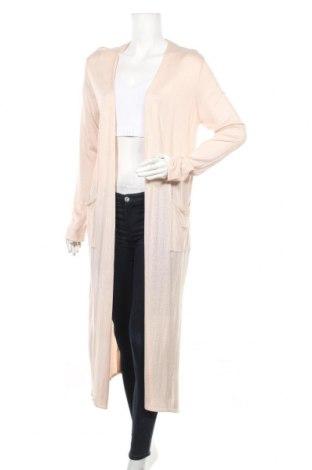 Дамска жилетка H&M, Размер S, Цвят Розов, 50% акрил, 50% вискоза, Цена 11,52лв.