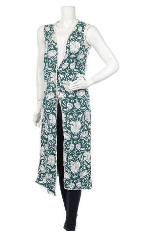 Дамска жилетка H&M, Размер M, Цвят Зелен, Вискоза, Цена 9,92лв.