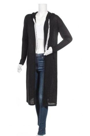 Дамска жилетка H&M Divided, Размер S, Цвят Черен, Полиестер, Цена 33,92лв.
