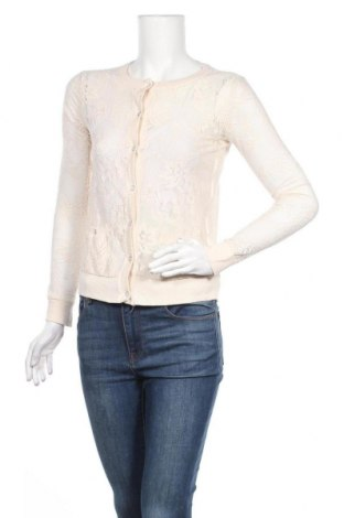 Дамска жилетка Jennyfer, Размер S, Цвят Екрю, Цена 6,04лв.