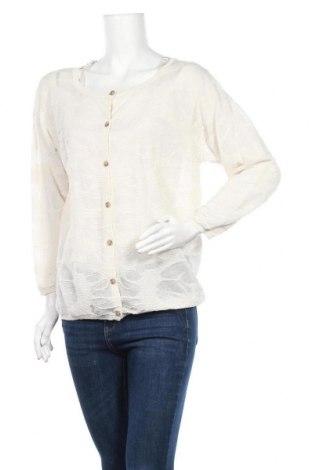 Дамска жилетка Selected Femme, Размер XL, Цвят Екрю, 90% вискоза, 10% полиамид, Цена 7,09лв.