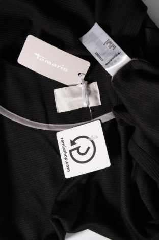 Дамска жилетка Tamaris, Размер S, Цвят Черен, 95% полиестер, 5% еластан, Цена 30,09лв.