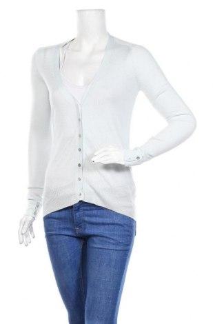 Дамска жилетка Zara Knitwear, Размер S, Цвят Син, 61% вискоза, 39% полиестер, Цена 25,50лв.