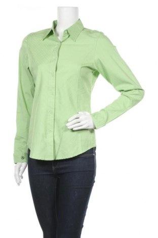 Дамска риза Aigle, Размер M, Цвят Зелен, 97% памук, 3% еластан, Цена 24,57лв.