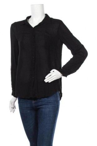 Γυναικείο πουκάμισο Ambiance Apparel, Μέγεθος M, Χρώμα Μαύρο, Βισκόζη, Τιμή 3,86€