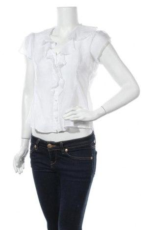 Дамска риза Banana Republic, Размер S, Цвят Бял, Коприна, Цена 60,90лв.