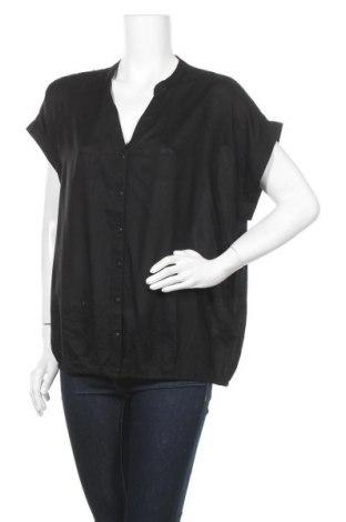 Дамска риза Boysen's, Размер XL, Цвят Черен, Вискоза, Цена 23,94лв.