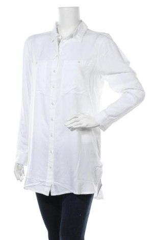 Дамска риза Boysen's, Размер M, Цвят Бял, Вискоза, Цена 17,15лв.