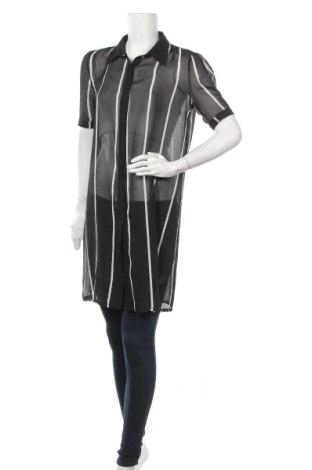 Γυναικείο πουκάμισο Catwalk, Μέγεθος M, Χρώμα Μαύρο, Πολυεστέρας, Τιμή 9,55€