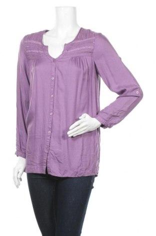 Дамска риза Cellbes, Размер XS, Цвят Лилав, Вискоза, Цена 11,82лв.