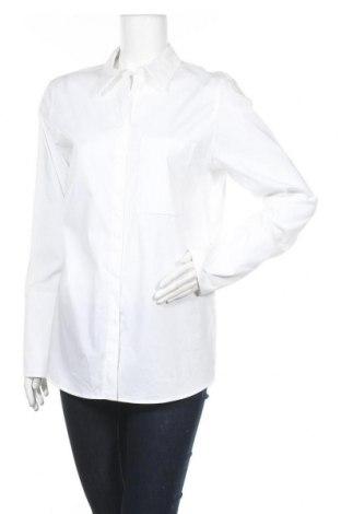 Дамска риза Drykorn for beautiful people, Размер L, Цвят Бял, 96% памук, 4% еластан, Цена 51,45лв.
