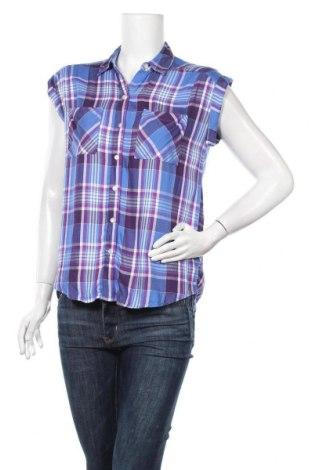 Дамска риза Express, Размер XS, Цвят Многоцветен, Вискоза, Цена 5,19лв.