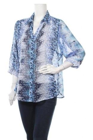 Дамска риза Gina Benotti, Размер XL, Цвят Син, Полиестер, Цена 4,54лв.