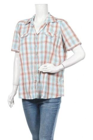 Дамска риза Green House, Размер XL, Цвят Многоцветен, Памук, Цена 4,46лв.