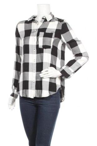 Дамска риза H&M, Размер M, Цвят Черен, Вискоза, Цена 15,75лв.