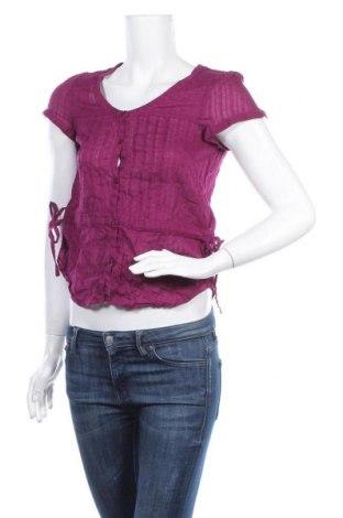 Дамска риза H&M, Размер M, Цвят Лилав, Памук, Цена 4,46лв.