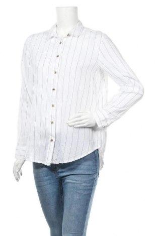 Дамска риза H&M L.O.G.G., Размер M, Цвят Бял, Памук, Цена 15,75лв.