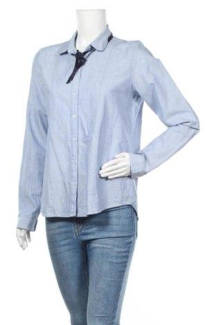 Дамска риза H&M L.O.G.G., Размер M, Цвят Син, Полиамид, Цена 17,96лв.