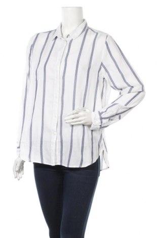 Дамска риза H&M L.O.G.G., Размер M, Цвят Бял, Памук, Цена 19,50лв.