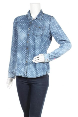 Дамска риза Hilfiger Denim, Размер L, Цвят Син, Цена 25,50лв.