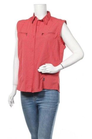 Дамска риза Iguana, Размер L, Цвят Червен, 90% полиамид, 10% еластан, Цена 5,36лв.