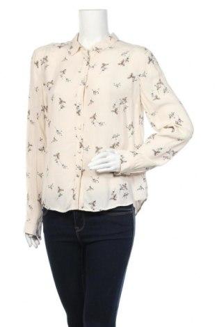 Дамска риза Jack Wills, Размер M, Цвят Екрю, Вискоза, Цена 59,25лв.
