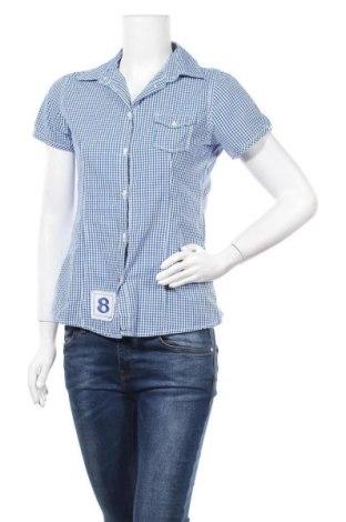 Дамска риза Jake*s, Размер M, Цвят Син, Памук, Цена 7,98лв.