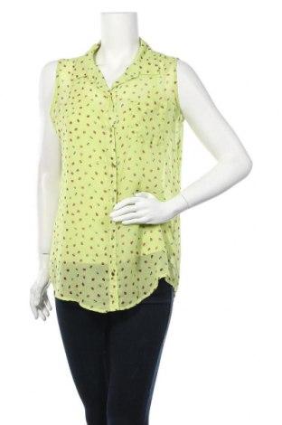 Дамска риза Liz Claiborne, Размер M, Цвят Зелен, Полиестер, Цена 4,73лв.