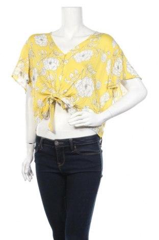Γυναικείο πουκάμισο Lush, Μέγεθος XXL, Χρώμα Κίτρινο, Βισκόζη, Τιμή 5,46€