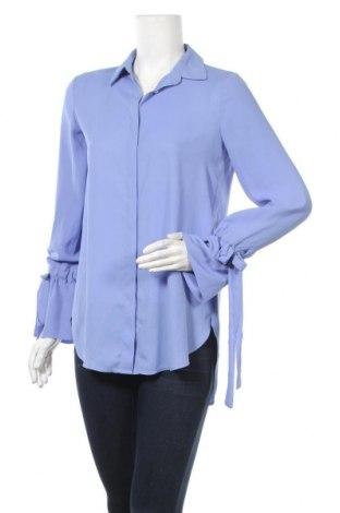 Дамска риза Mango, Размер S, Цвят Син, Цена 18,00лв.