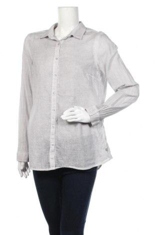 Γυναικείο πουκάμισο Milano Italy, Μέγεθος L, Χρώμα Γκρί, Βαμβάκι, Τιμή 9,16€