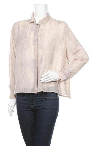 Γυναικείο πουκάμισο Mtwtfss Weekday, Μέγεθος S, Χρώμα  Μπέζ, Πολυεστέρας, Τιμή 3,86€
