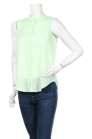Γυναικείο πουκάμισο Mtwtfss Weekday, Μέγεθος S, Χρώμα Πράσινο, Πολυεστέρας, Τιμή 3,86€