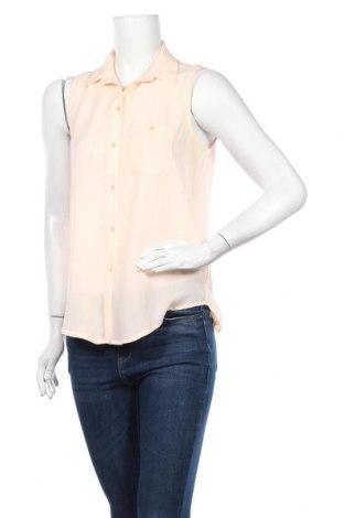 Γυναικείο πουκάμισο Mtwtfss Weekday, Μέγεθος S, Χρώμα Ρόζ , Πολυεστέρας, Τιμή 3,86€
