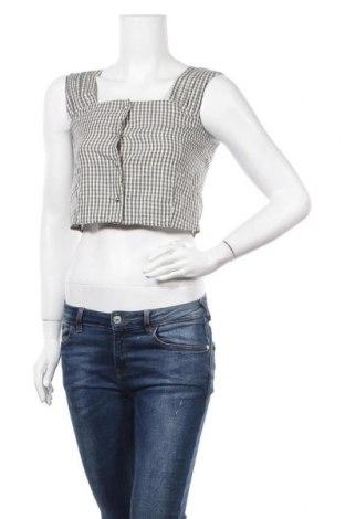 Γυναικείο πουκάμισο OAK + FORT, Μέγεθος XS, Χρώμα Γκρί, Βαμβάκι, Τιμή 3,86€