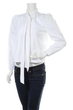 Γυναικείο πουκάμισο ONLY, Μέγεθος XS, Χρώμα Λευκό, Βαμβάκι, Τιμή 17,01€