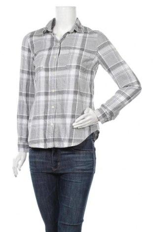 Γυναικείο πουκάμισο Old Navy, Μέγεθος XS, Χρώμα Γκρί, Βαμβάκι, Τιμή 11,04€