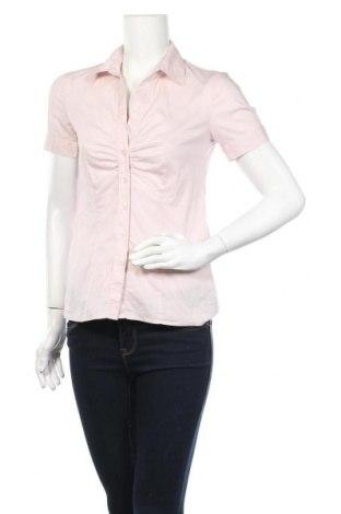 Дамска риза S.Oliver, Размер XS, Цвят Розов, 77% памук, 20% полиамид, 3% еластан, Цена 4,73лв.