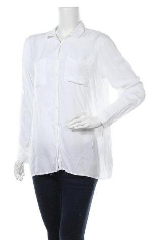 Γυναικείο πουκάμισο Soya Concept, Μέγεθος L, Χρώμα Λευκό, Βισκόζη, Τιμή 6,62€