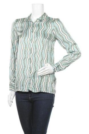 Γυναικείο πουκάμισο Soya Concept, Μέγεθος S, Χρώμα Μπλέ, Βισκόζη, Τιμή 6,07€