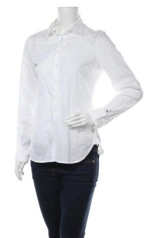 Дамска риза Tommy Hilfiger, Размер S, Цвят Бял, Памук, Цена 35,91лв.