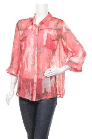 Γυναικείο πουκάμισο Top Secret, Μέγεθος XL, Χρώμα Κόκκινο, Τιμή 4,09€