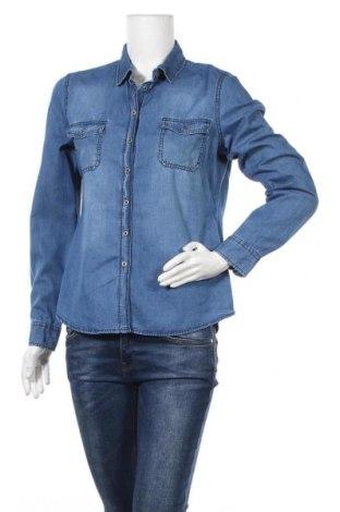 Γυναικείο πουκάμισο Up 2 Fashion, Μέγεθος M, Χρώμα Μπλέ, 81% βαμβάκι, 19% lyocell, Τιμή 8,02€