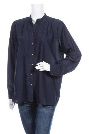 Γυναικείο πουκάμισο Vrs Woman, Μέγεθος XL, Χρώμα Μπλέ, Πολυεστέρας, Τιμή 5,85€