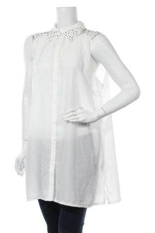 Γυναικείο πουκάμισο Zay, Μέγεθος M, Χρώμα Λευκό, Πολυεστέρας, Τιμή 19,32€
