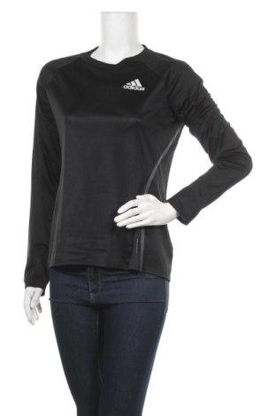 Γυναικεία αθλητική μπλούζα Adidas, Μέγεθος M, Χρώμα Μαύρο, Πολυεστέρας, Τιμή 16,89€
