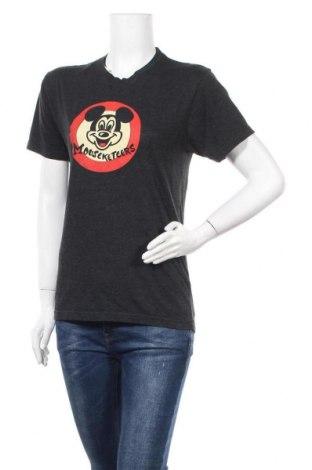 Дамска тениска, Размер S, Цвят Сив, 50% полиестер, 25% памук, 25% вискоза, Цена 8,82лв.