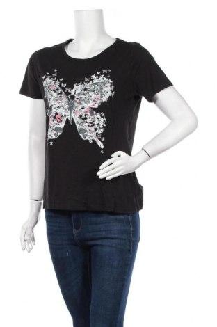 Дамска тениска, Размер M, Цвят Черен, Цена 14,70лв.