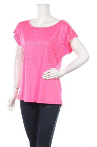 Дамска тениска Adidas, Размер L, Цвят Розов, Полиестер, Цена 21,00лв.